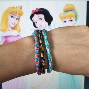 Disney Princess Set of 3 Friendship Bracelets